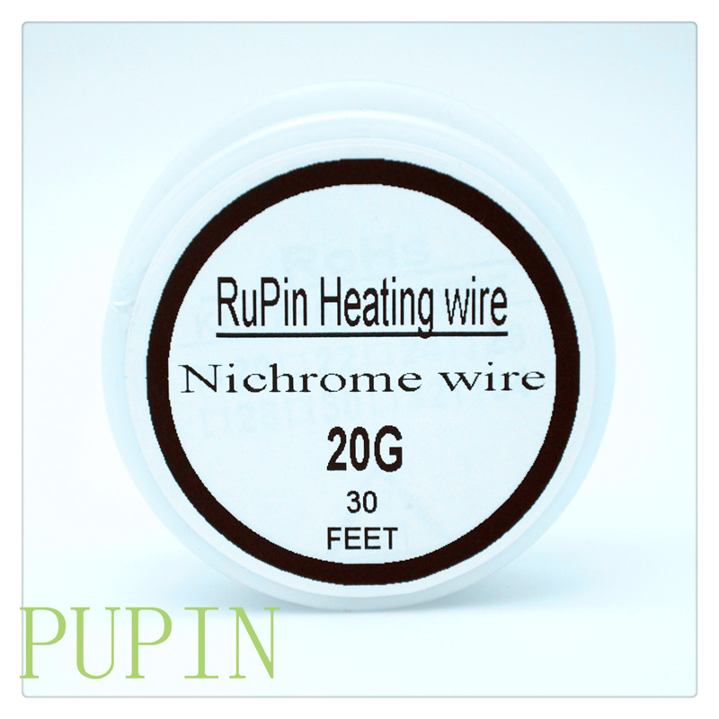 RuPin Heating Wrie Nichrome wire 20Gauge 30 FT 0.8mm Resistance ...