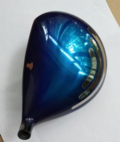 Playwell 2017 Big Bang Blue Titanium Golf Driver Head Wood Iron Putter Wedge Free Shipping