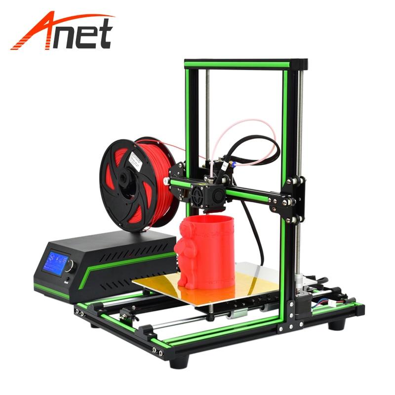 Anet E10 Full Metal Frame Elegant 3d Printer Machine Remote Feeding High Precision Impressora 3d Aluminum