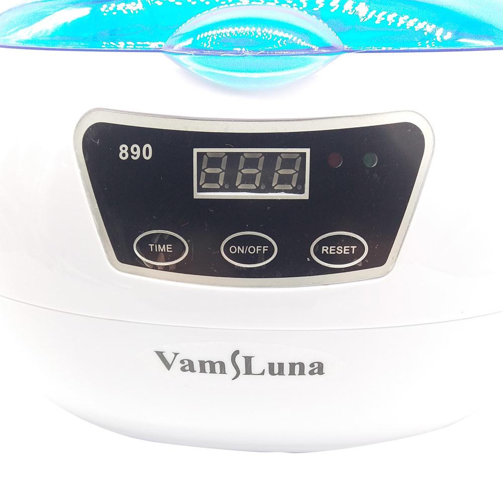 Alat sterilizer kuku - 600ML Ultrasonic Cleaner untuk Alat Logam, - Seni kuku - Foto 4