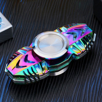Hand Spinner Colorful Rainbow Metal Tri Spinner Fidget Spinner Anti Stress New Year Gift Toys Gift