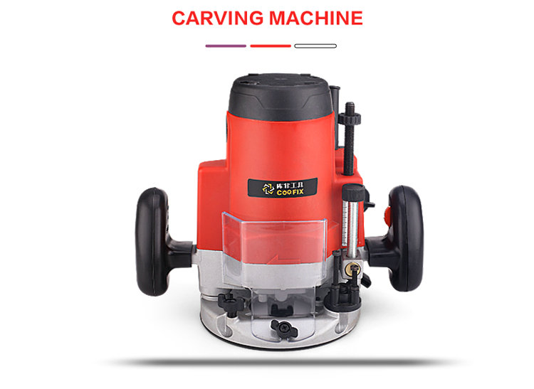 AC220V 50HZ 1800W M1R-DS-12 small multi-function electric trimming machine Woodworking slotting machine (presented 15pcs cutter) electric woodworking trimming machine sl 1069 multi function engraving machine aluminum body trimmer 220v 50hz 350w 3000r min