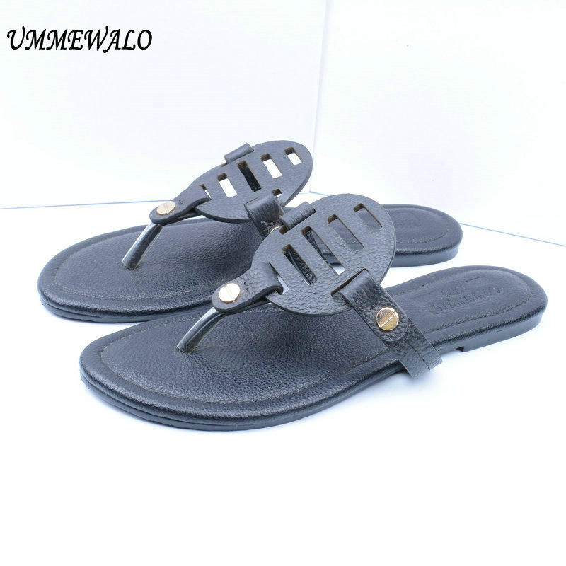 Summer Women Sandals Flip Flops Designer Elastic Band Flat Sandals Casual Women Shoes