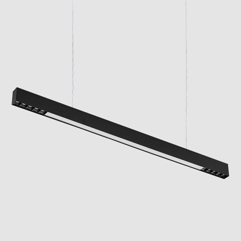 SCON 120 cm surface montée LED ligne barre lumineuse créative linéaire longue bande bureau couloir lampe plafond et suspension ligne lampe