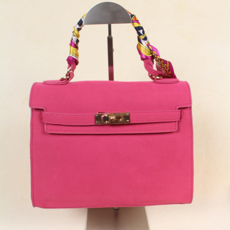 Popular Women Leather Pink Handbags-Buy Cheap Women Leather Pink ...