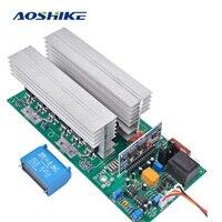 AOSHIKE Invertor Pure Sine Wave Power DC12V 24V 36V 48V 60V To 220V Inverters 1500W 3000W 4000W 5000W 6500W Frequency Converters