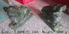 цена на 7.88 inch / China southern Taiwan jade kirin feng shui to ward off bad luck dog