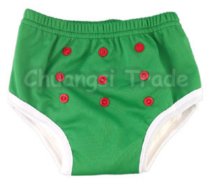 3pcs/lot Solid Color Baby Training Pants Boys and Girls Soft and Breathable Potty Trainer Panties Factory Direct Sale
