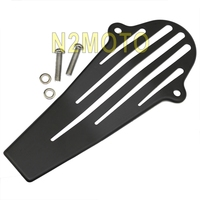 For Yamaha V Star 650 1100 Classic Custom Black Shaft Drive Cover Protector 98 13