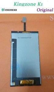 """Image 1 - オリジナルfhd液晶表示画面+タッチスクリーンkingzone k1ターボmtk6592 5.5 """"1920 × 1080 nfcスマート電話+送料無料"""