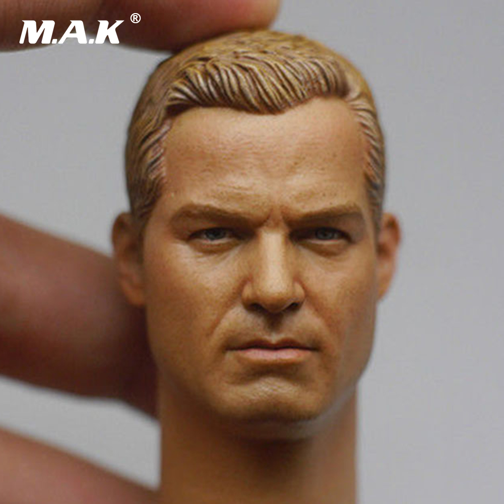 Custom 1/6 US NAVY Cpt. Tom Chandler Head Sculpt Eric Dane US Actor Collections for 12 Male Body Figures