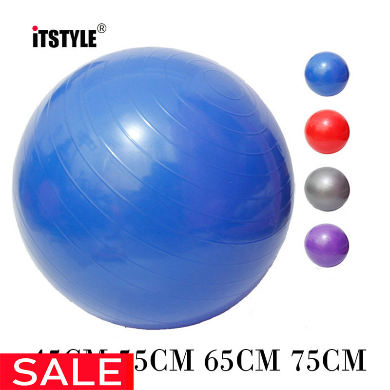 ITSTYLE Workout-Massage-Ball Yoga-Balls Gym Balance Fitball Exercise Fitness Pilates