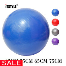 ITSTYLE deportes Yoga bolas Bola Pilates gimnasio equilibrio Fitball  ejercicio Pilates entrenamiento Bola de masaje 45 cm 55 cm . 7a81ad9ed35f
