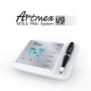 Artmex V9 Digital Permanent Makeup Tattoo Machine Eyebrow Eyeliner Lips Facial Therapy Tattoo Pen Face Treatment Anti Wrinkle