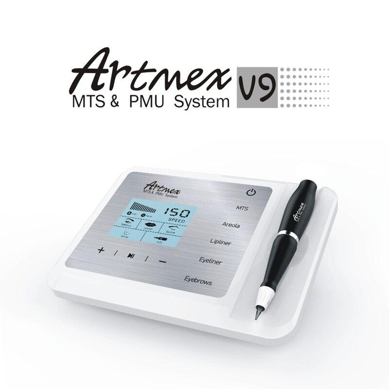 Artmex V9 numérique maquillage Permanent Machine à tatouer sourcil Eyeliner lèvres thérapie du visage tatouage stylo traitement du visage Anti-rides
