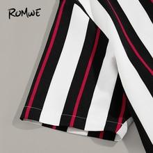 Striped Button Up Short Sleeve Mens PU27