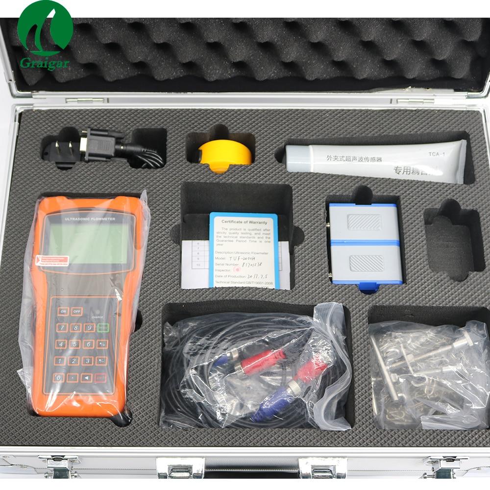 TUF-2000H Digital Ultrasonic Flowmeter Flow Meter with Standard Transducer TM-1 Measuring Range DN50-700mmTUF-2000H Digital Ultrasonic Flowmeter Flow Meter with Standard Transducer TM-1 Measuring Range DN50-700mm