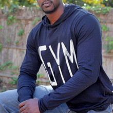 Fashion Men's Cotton Sweatshirts Casual fitness Hoodied T-Shirt Sweater Jacket Bodybuilding Workout Clothes Men's Hoodies