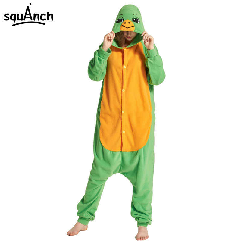 Detail Feedback Questions about Animal Kigurumi Onesie Adult Green Sea  Turtle Tortoise Pajama Costume Women Men Funny Sleepwear Overall Festival  Carnival ... 7f0bea9a9
