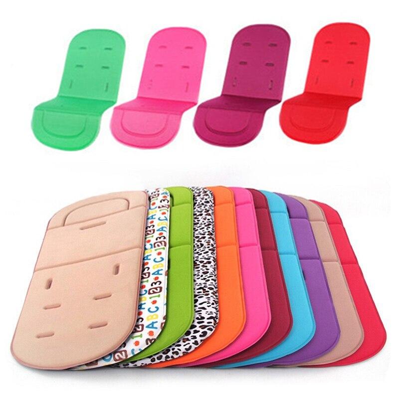 Baby Stroller Seat Cushion Kids Pushchair Car Cart High Chair Seat Trolley Soft Mattress Baby Stroller Cushion Pad Accessories