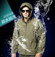A TACS FG Windbreaker Jacket Military Outdoor Sports Jacket Soft Hard Shell Windproof Jacket Coat