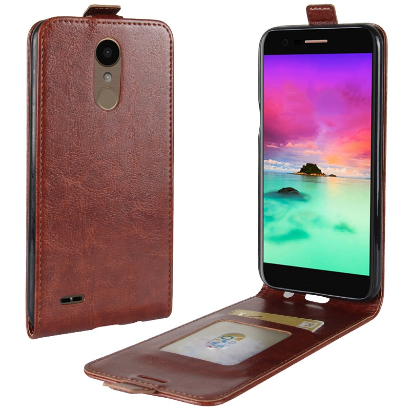 Luxury Flip capa for coque LG K20 Plus TP260 case leather back skin capa for LG K20 Plus K20 V K20V VS501 LV5 cover fundas pouch