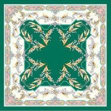 spring square scarfs 90cm femme mujer polyester satin silk head hijab designer brand shawls tippets for ladies