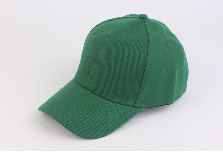 2019 NEW fashion green   cap   casual solid   Baseball     Caps