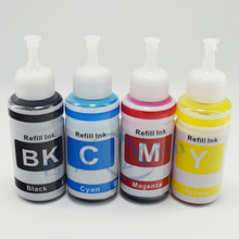 XIJIN 4PCS 70ML T6641 T6642 T6643 T6644 refill ink kit dye ink based non oem refillable high quality printer inks