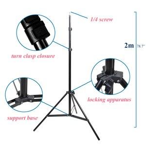 Image 1 - תמונה 2 M 79 סנטימטרים אור Stand חצובה עם 1/4 בורג ראש עבור תמונה סטודיו Softbox וידאו פלאש מטריות רפלקטור תאורה