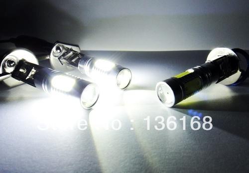 2 unidades El Envío libre El más aclamado parte Auto H1 luz del coche 11 W Llevó La Luz Llevada Auto de La Lámpara Led iluminación