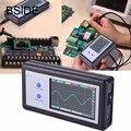 Портативный мини-осциллограф D602  200 кГц  2 канала  карманная ручная сенсорная панель  ЖК-цифровой осциллограф  бесплатная доставка