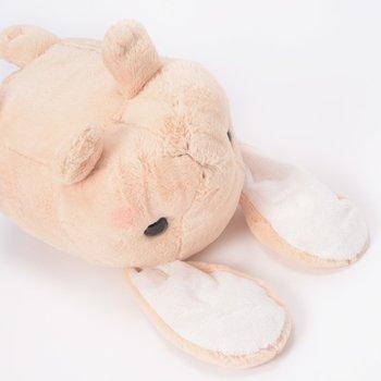 Pote Usa Loppy Amuse Bunny Tsumikko Giant Plush-Soft Rabbit Pillow Stuffed Animal Cushion Toy Fluffy And Cuddle Gift 120cm big plush soft stuffed cartoon sketch rabbit toy large back bunny doll huge animal throw pillow cushion gift for kids c60b