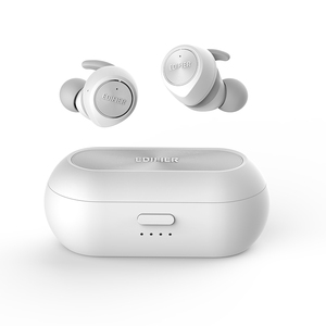 Image 5 - EDIFIER TWS3 TWS gerçek kablosuz Bluetooth V4.2 kulak içi kulaklık ile şarj kutusu ve çıkarılabilir kulak kanatları çok fonksiyonlu düğme