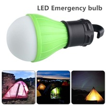 New outdoor 3LED emergency bulb three tranches adjustable for camping hook tents horse camp lights