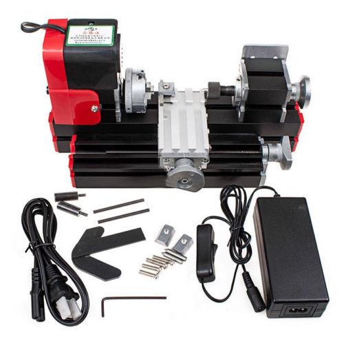DIY Mini lathe Miniature Metal Multifunction Machine Lathe machine 20000rev/min for School teaching laboratory DIY
