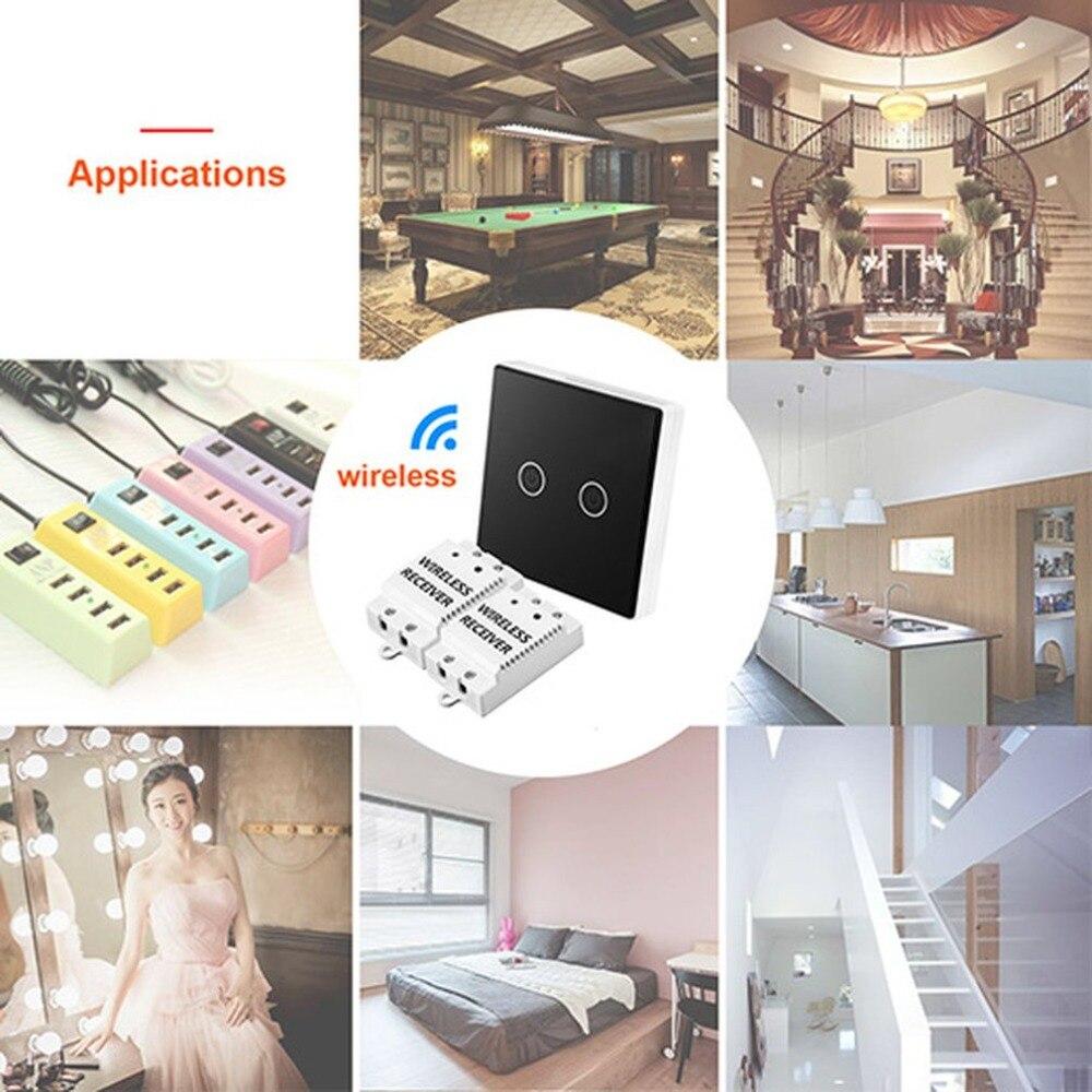 Remote Control Touch Wireless Switch Panel (ts-w433) цена