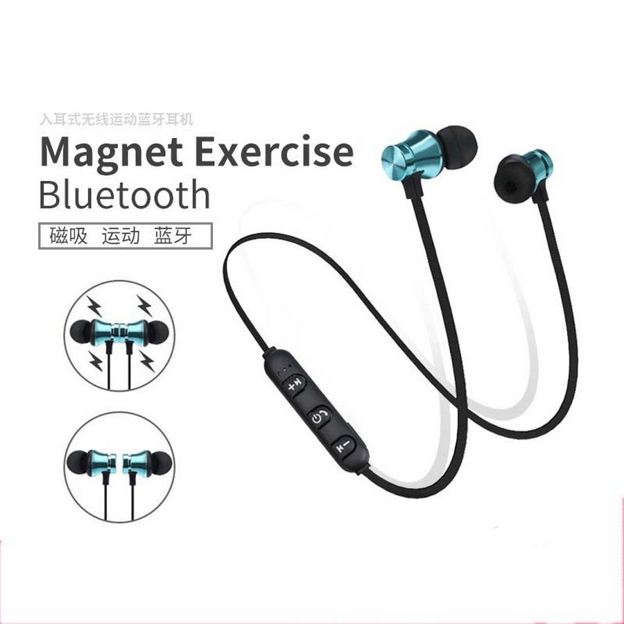 100pcs Bluetooth Wireless Earphone Sport Bluetooth Headphone For Xiaomi iPhone Stereo Headset Ecouteur Auriculare Fone de