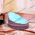 FRETE GRÁTIS saco de feijão cadeira com 2 pcs céu azul para cima da tampa bebê tampa do saco de feijão do saco de feijão cadeira do saco de feijão de assento infantil