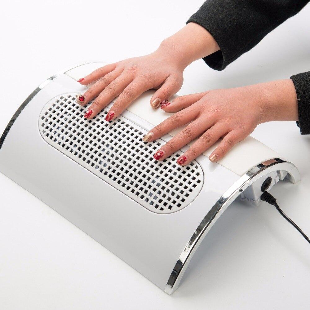 Salon Nail Dryer Machine: 110V&220V Nail Dryer Machine Nail Dust Suction Collector