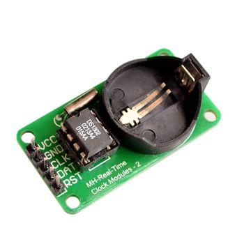 Moduł DS1302 zegar czasu rzeczywistego moduł bez baterii CR2032 na stanie