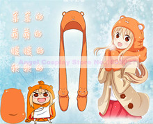 3 IN 1 Flannel Winter Hat+Scarf+Gloves of Anime Silver Soul and Umaruqian Style in stock free shipping