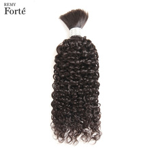 Remy Forte 30 Inch Human Hair Curly Wholesale Lots Bulk Human Braiding Hair Bulk Single Bundle Bulk Human Hair For Braiding mom