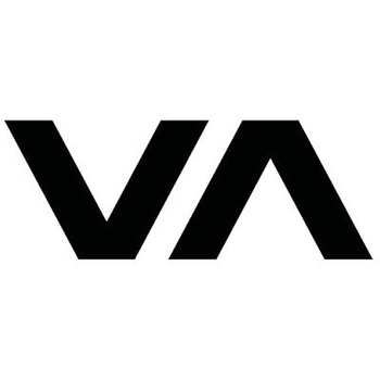 13.1X5CM VA Logo CA Ruca Surf Skate Vinyl Decal Black/White Car Sticker Room Wall Styling Decals for KIA RIO Mazda Rx8 Rx7 Opel image