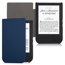 BOZHUORUI Smart case dla Pocketbook 631 eReader  touch HD/Touch HD 2 Ruby Red PU Leather magnetyczny pokrywa z auto wake/uśpienia