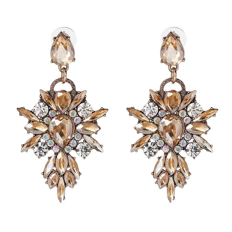 Hete kleurrijke bloem Big Brand Design luxe Rhinestone Starburst - Mode-sieraden - Foto 5