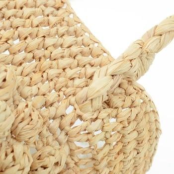 Cute Beach Bag | Fashion Straw Bag Ladies Popular Beach Woven Handbag Ladies Cute Travel Clutch Bag