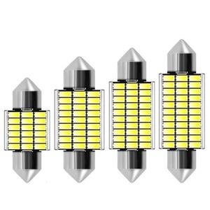 31mm 36mm 39mm 42mm Festoon C5W C10W Led Bulb 18 27 30 33 Smd 4014 Canbus No Error Auto Interior Doom Lamp Car Reading Light