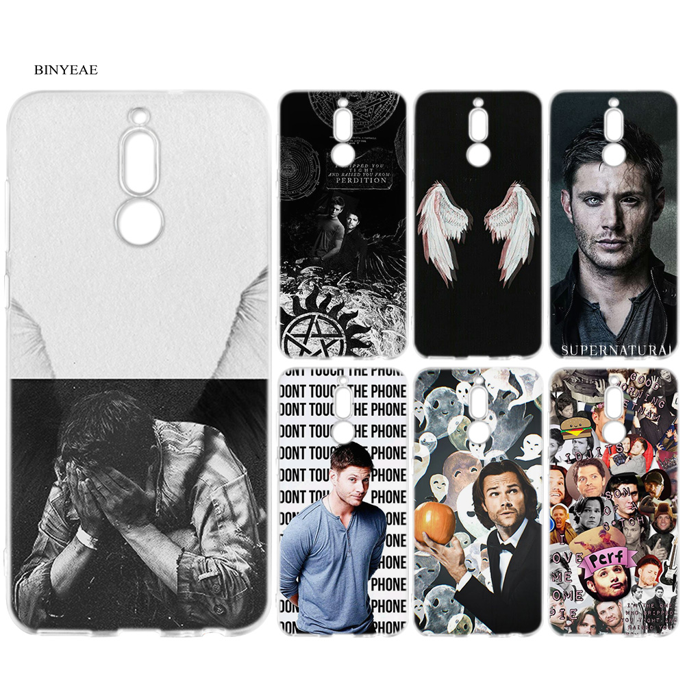 BINYEAE Supernatural Silicone Case for Huawei Mate 10 P20 P10 P9 P8 Y6 Y7 Honor 7C 7A 9 10 Lite Pro 2018 Mini 2017 Back Cover image