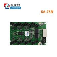 цена colorlight synchronous receiving card 5A-75B use for led full color display screen controller card онлайн в 2017 году